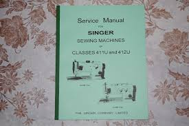 professional service manual for singer sewing machines of classes