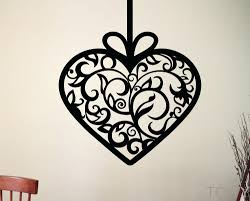 articles with metal hearts wall decor tag excellent metal hearts