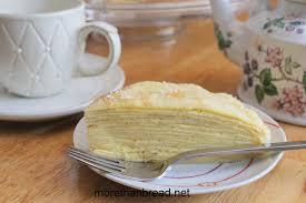 more than bread mango mille crêpes 香芒千層薄餅