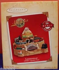 hallmark ornament 2004 lionel lionelville legendary trains light