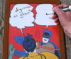 Batman And Robin Slap Meme - let hilarity ensue batman slap meme dry erase board ohgizmo