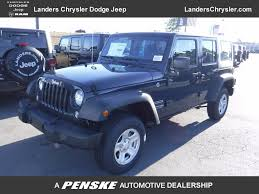 2018 new jeep wrangler jk unlimited sport 4x4 at landers serving