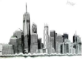 free coloring page coloring new york liberty tower drawing of the