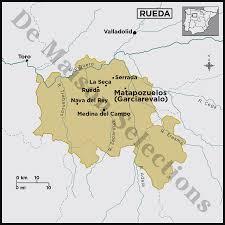 Valladolid Spain Map by Garciarevalo