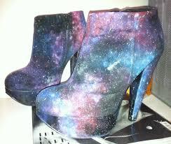 painting diy galaxy print fashion