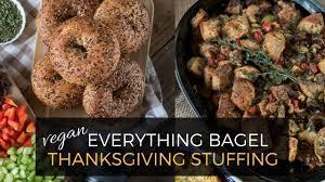 vegetarian thanksgiving stuffing everything bagel vegan thanksgiving stuffing oil free w gf