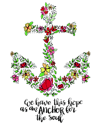 Love Anchors The Soul Wall - hope is an anchor for your soul print free to download off the
