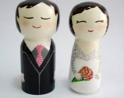 wedding gift japanese kokeshi dolls wooden doll japanese doll fortune dolls