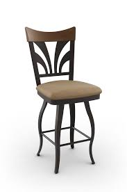 amisco peacock swivel stool w cabriole legs free shipping
