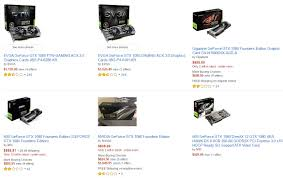 black friday 1080 amazon suggested price warriors are vandalizing geforce 1080 reviews