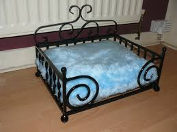 dog bed wrought iron small diva
