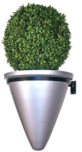contemporary plant pots tall contemporary modern outdoor planter