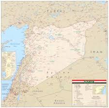 Map Of Al Map Of Syria Detailled Map Weltkarte Com Karten Und