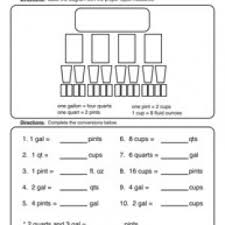 capacity worksheets have fun teaching
