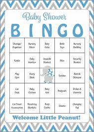 elephant baby shower game download for boy baby bingo