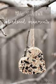diy bird seed ornaments bird seed ornaments ornament and bird
