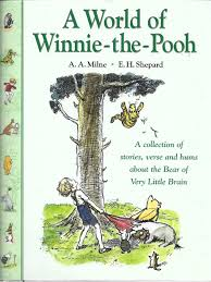 winnie the pooh by milne a a illustrated by e h shepard abebooks