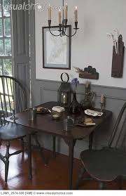 Dining Room Wainscoting Ideas Period Colonial Style The Wood Wainscoting On Bottom Of Walls