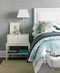 Blue Upholstered Headboard Upholstered Headboard With Nailhead Trim Design Ideas