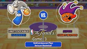 backyard basketball youtube gaming