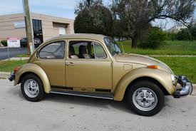 1974 volkswagen beetle sun bug edition for sale youtube