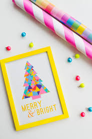 free printable merry and bright christmas quote print bespoke