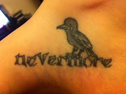 quoth the raven u2022 contrariwise literary tattoos