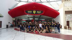 ferrari building ucam students learn sports management spanish business council