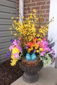42 best spring urns images on pinterest flower pots urn and