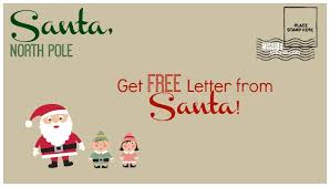 letters from santa claus free letter from santa postmarked from pole send by 12 15