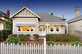 House Colours Light Grey And White Colour Scheme I Love The Picket Fence