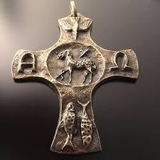 papal crucifix 3 1 4 of god pectoral cross crucifix vatican