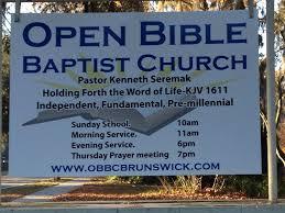 Brunswick Ga Zip Code Map by Open Bible Baptist Church Brunswick Ga