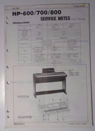 original roland service notes hp 600 700 800 keyboard what u0027s it