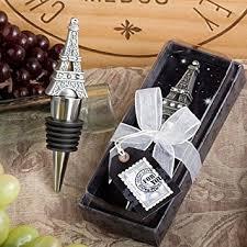wine stopper wedding favors from eiffel tower wine bottle stopper