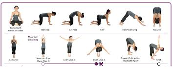 yoga poses pictures printable yoga for beginners printables comeback momma family travel