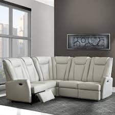 Sectional With Recliner Power Reclining Sectional Sofas You U0027ll Love Wayfair