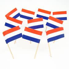 dutch flag toothpicks netherlands holland theme party