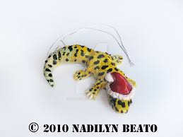 leopard gecko deco by nadilynbeato on deviantart