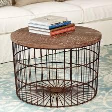 Mango Wood Side Table Mango Wood Top Basket Coffee Table