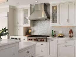 Backsplash Kitchen Glass Tile Kitchen Trendy Glass Kitchen Backsplash White Cabinets Khaki