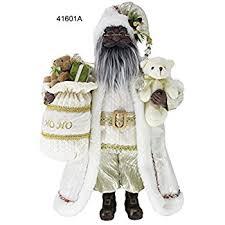 american santa with list figurine