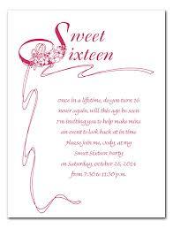 sweet 16 invitation verses u2013 orderecigsjuice info