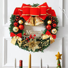 30cm large wreath door wall hanging ornament garland