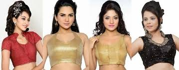 best blouse style tips to look in saree at looksgud in