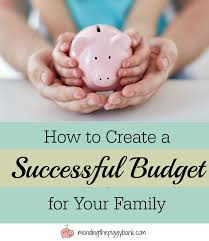 Spreadsheet For Budgeting How To Create A Successful Budget For Your Family Free