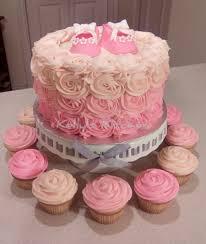 baby shower cake buttercream rosette baby shower cake cakecentral