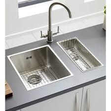 Kitchen Double Bowl Brushed Undermount Stainless Steel Sinks For - Brushed stainless steel kitchen sinks