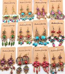 cheap earrings bohemian dangle earrings for women girl party hot sale big