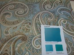 karen ann u0027s window treatments turquoise paints and fabrics